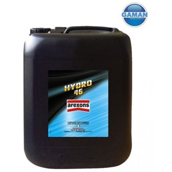 9236 OLIO IDRAULICO ISO VG46 HYDRO 46 20LT. AREXONS