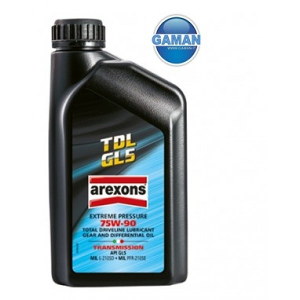 9343 OLIO CAMBIO E DIFFERENZIALE TDL 70W90 GL5 1 LT. AREXONS