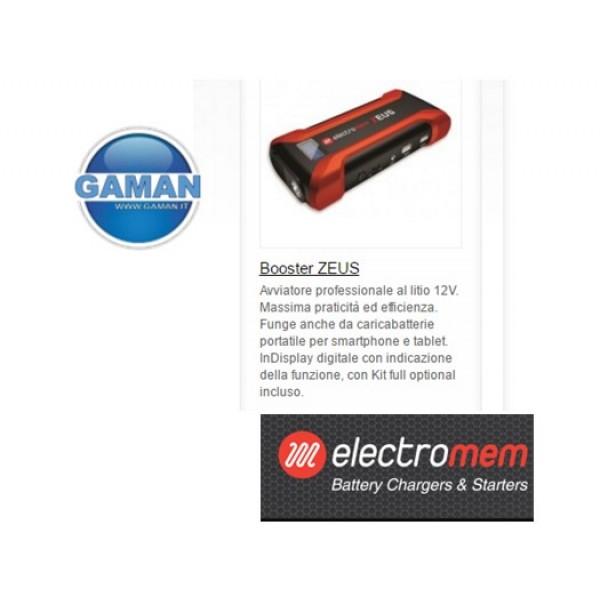 ZEUS EMERGENCY BOOSTER 12V ELECTROMEM