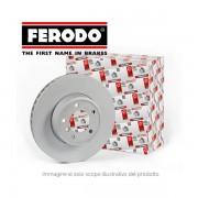 DDF140 COPPIA DISCHI FRENO ANTERIORE FERODO