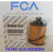 55238304 FILTRO OLIO MOTORE FCA 1.3 D MultiJet  1.6 JTD 1.3 JTD FIAAM FA5766ECO - UFI 2503100 - TECNOCAR OP269 - CLEAN ML1730 -  55197218,  71772815