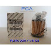 71751128 FILTRO OLIO MOTORE FCA 1.9 JTDM  2.0 JTDM 1.3 MULTIJET