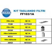 KIT FILTRI FIAT PANDA 1.3 JTD MULTIJET 16V