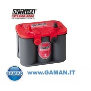 BATTERIA OPTIMA ROSSA RT U 4.2 12V 50AH 815EN