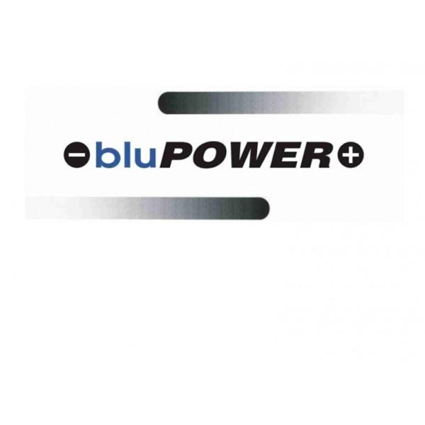 BATTERIA BLUPOWER 12V 80AH  BASSA   680AEN  L3 POSITIVO DESTRO OCCHIO INDICATORE PROMO WEB